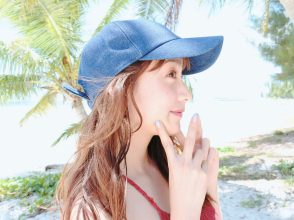 CanCam9月号、山本美月、Aquarius Beach,Saipan