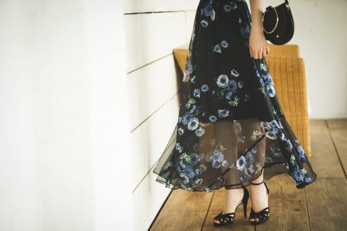 上品なスカートが映える今日のコーデ