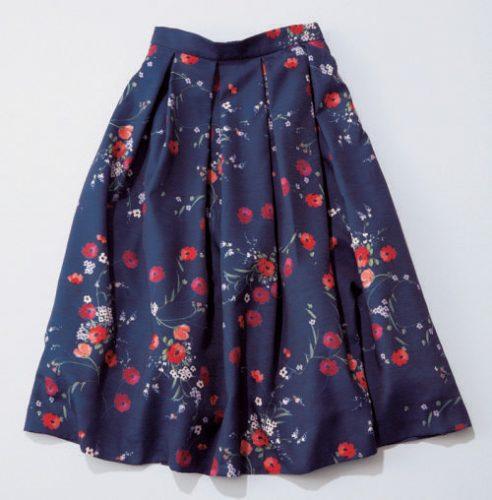 CanCam,専属モデル,まいまい,WILLSELECTION,花柄,フレアスカート