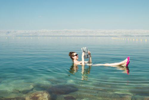 海, リラックス, 水着