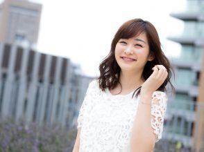 笑顔の岩田絵里奈