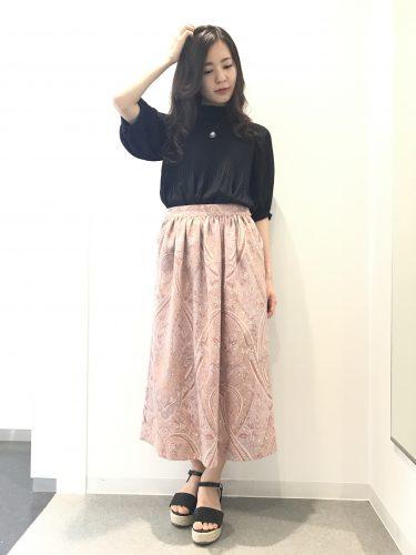 スカート,ロング丈