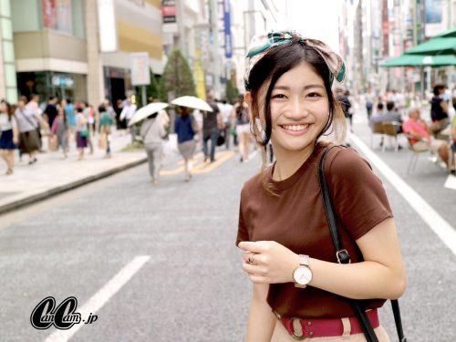 CanCam it girl ,谷山響,リブT,ユニクロ