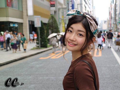CanCam it girl,谷山響,ヘアアレンジ,くるりんぱ,バンダナ