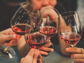 乾杯,ワイン