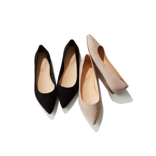 ユニクロ,靴,ポインテッドフラットシューズ,