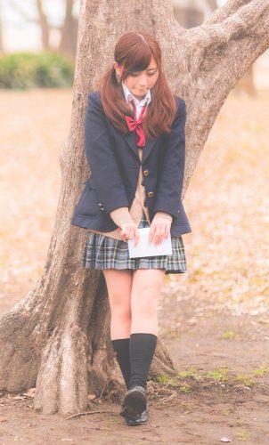 女子高生,スカート丈,靴下,流行,かわいい,年齢別