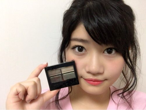 CanCam it girl,谷山響,メイク,リンメル,アイシャドウ