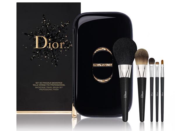 クリスマスコフレ2017,Dior,ディオール,パレット,ブラシ