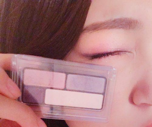 柳田菜月,CanCam it girl,無印良品,アイシャドウ
