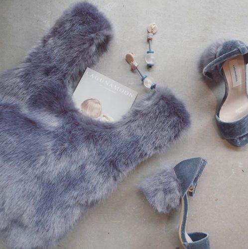 エコファーバッグ,秋,トレンド,ファッション