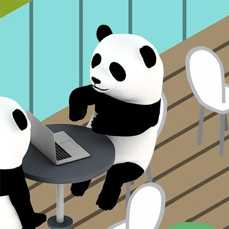 SNS,あるある,パンダ,チュッパンダ