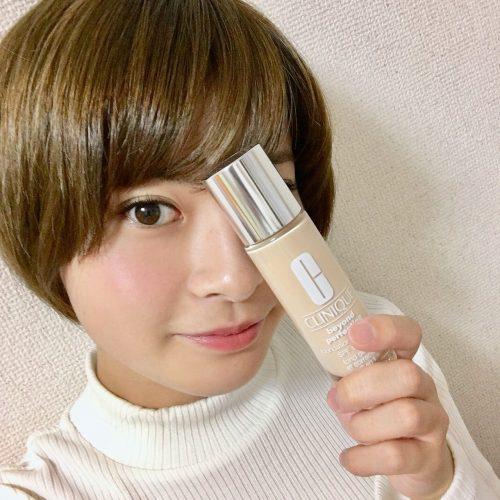 鈴木康代,CanCam it girl,クリニーク,ファンデーション,メイク