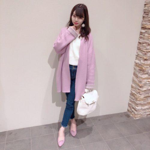 七瀬莉砂,CanCam it girl ,ファッション,ガウンコート