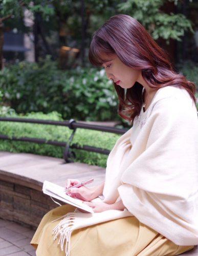 小湊愛巳,CanCam it girl,ストール,ファッション,ロペピクニック