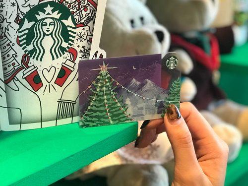スタバ,スターバックス,ホリデー,クリスマス,限定,アイテム,カード