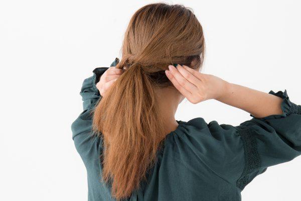 ミディアムにおすすめ簡単まとめ髪