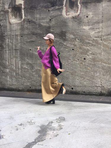 ファッション,トレンド,秋,2017,パープル