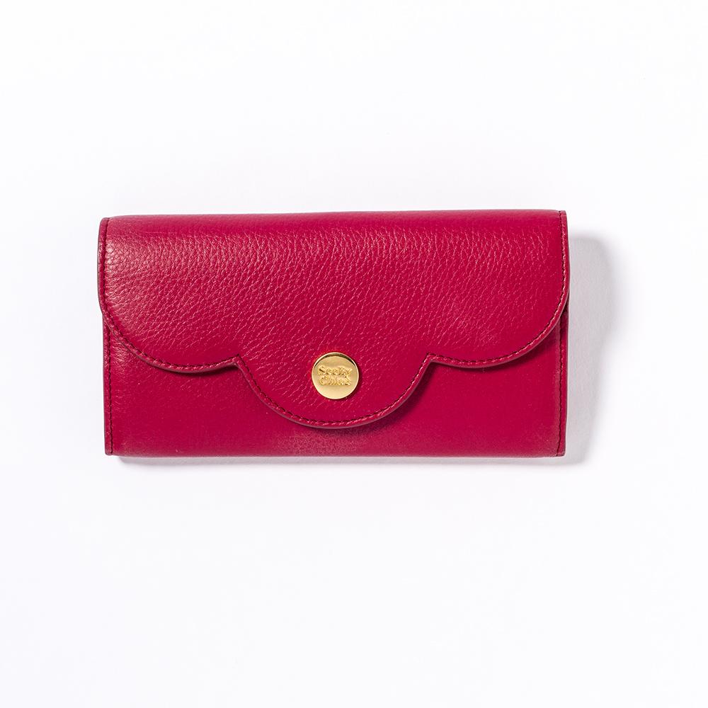 シーバイクロエのピンク長財布