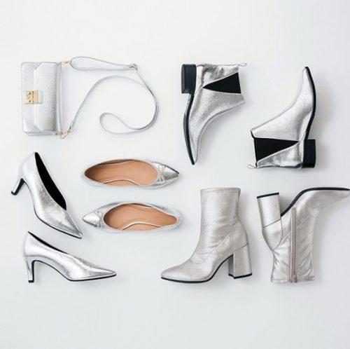 GU,メタリック,小物,シルバー,ファッション,トレンド
