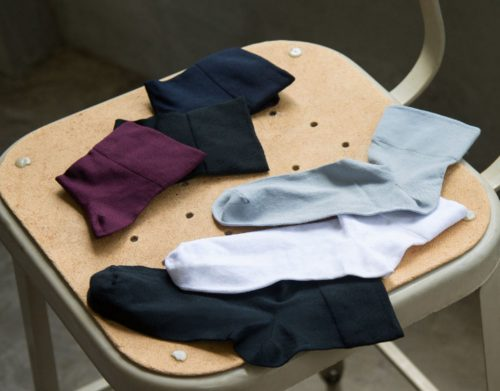 ユニクロ,靴下,クルー丈,パンプス,トレンド,ファッション