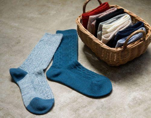 ユニクロ,靴下,ソックス,秋,トレンド,ファッション