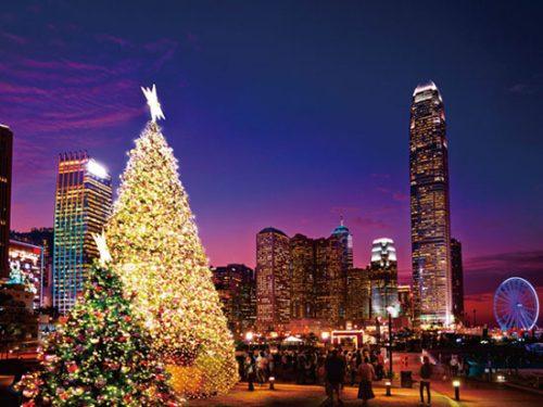 クリスマス,海外旅行,人気,ランキング,香港