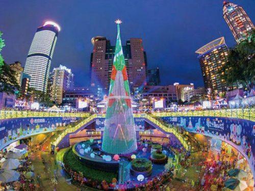 クリスマス,海外旅行,人気,ランキング,台湾