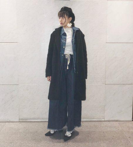 CanCam it girl,搗宮姫奈,デニム,ジャケット,ファッション,トレンド