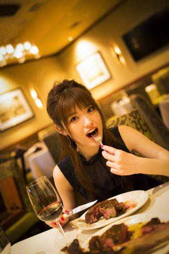 【ステーキ】松村沙友理