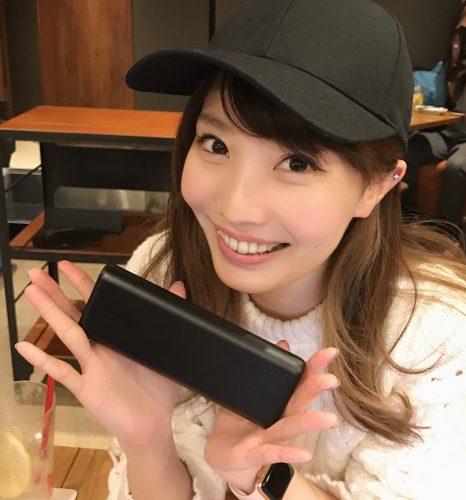 CanCam itgirl,横塚まよ,ガジェット,愛用,仕事,モバイルバッテリー
