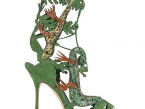 マノロブラニクの靴「LAGARTA」