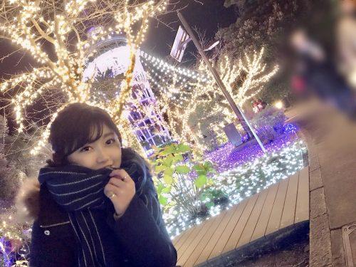 CanCam it girl,谷山響,イルミネーション,湘南の宝石