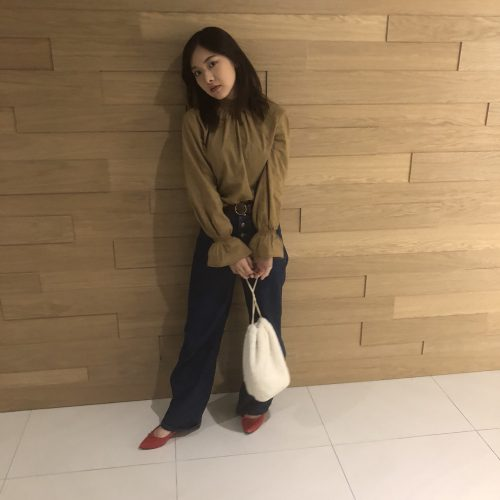 CanCam it girl,森綾伽,バッグ,冬,ファッション,トレンド