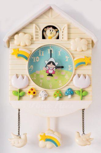 壁掛け時計(白)
