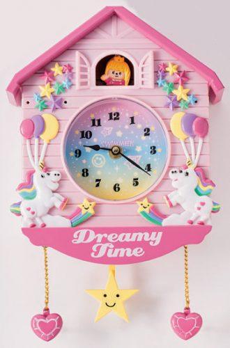 壁掛け時計(パステル)