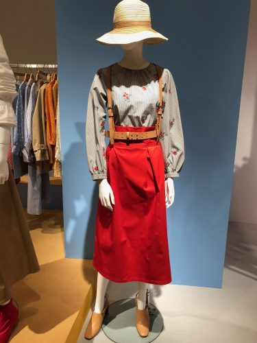 GU展示会速報のAラインスカート