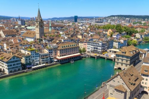 海外旅行,安い,シーズン,人気,旅行先,都市別,チューリッヒ