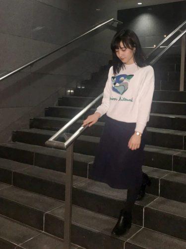 スエット,井澤萌莉,コーディネート