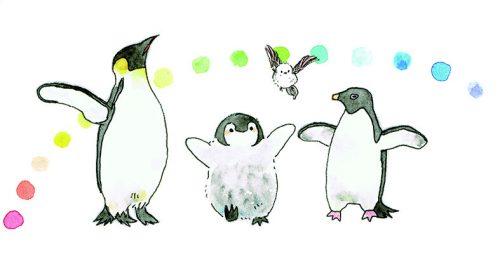 コウペンちゃん、邪エナガちゃん、教えてくれるタイプのしろくまさん、大人のペンギンさん、アデリーさん