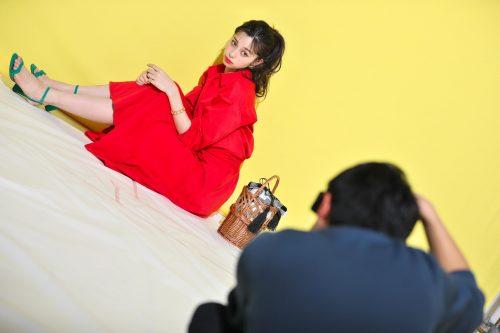 CanCam,4月号,専属モデル,表紙,中条あやみ,オフショット