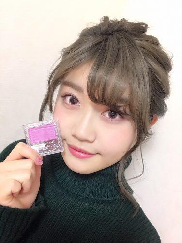 CANMAKE,キャンメイク,パウダーチークス,CanCam it girl,谷山響