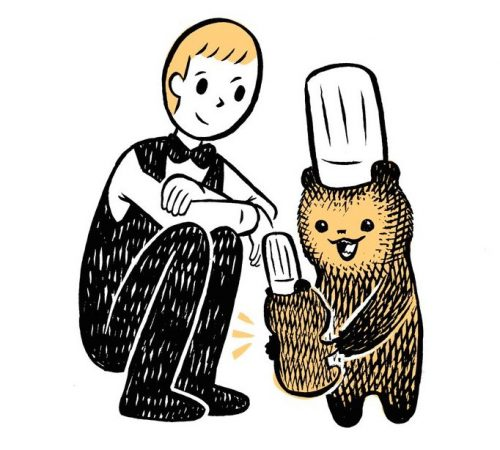 こぐまのケーキ屋さん,カメントツ,独占インタビュー,Twitter