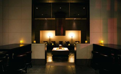 Rooftop Bar/アンダーズ東京、スパークリングワイン、店内