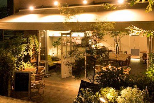 nakameguro SLOW TABLE、入り口、中目黒、ボタニカル、レストラン