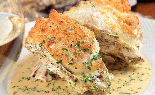 オイスターバー COVO、牡蠣料理、クリーム、