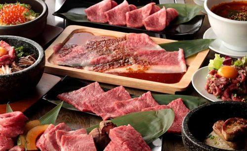 USHIHACHI 木場店の焼き肉セット