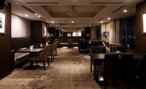 東京ベイナイトバー スカイビューラウンジ/ホテル インターコンチネンタル 東京ベイ、店内、落ち着いた雰囲気