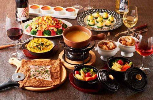Bistro Wine Cafe Hearth 池袋1号店、ビストロ、料理、チーズフォンデュ