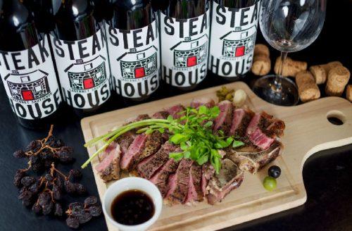 Salt中目黒、ステーキ、中目黒、レア、ワイン、レストラン